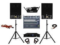 Комплект звукового оборудования 600 Ватт (H класс)