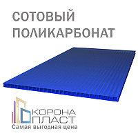 Сотовый поликарбонат 10 лет гарантии - Синий 10мм
