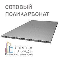Сотовый поликарбонат 10 лет гарантии - Бронза-Серый 10мм - 12 метров