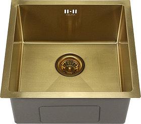 Мойка кухонная Melana D4645HG золото