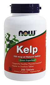 KELP 150мг (морские водоросли) №200 капс  NOW