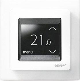 Терморегулятор Devi Touch polar white белый