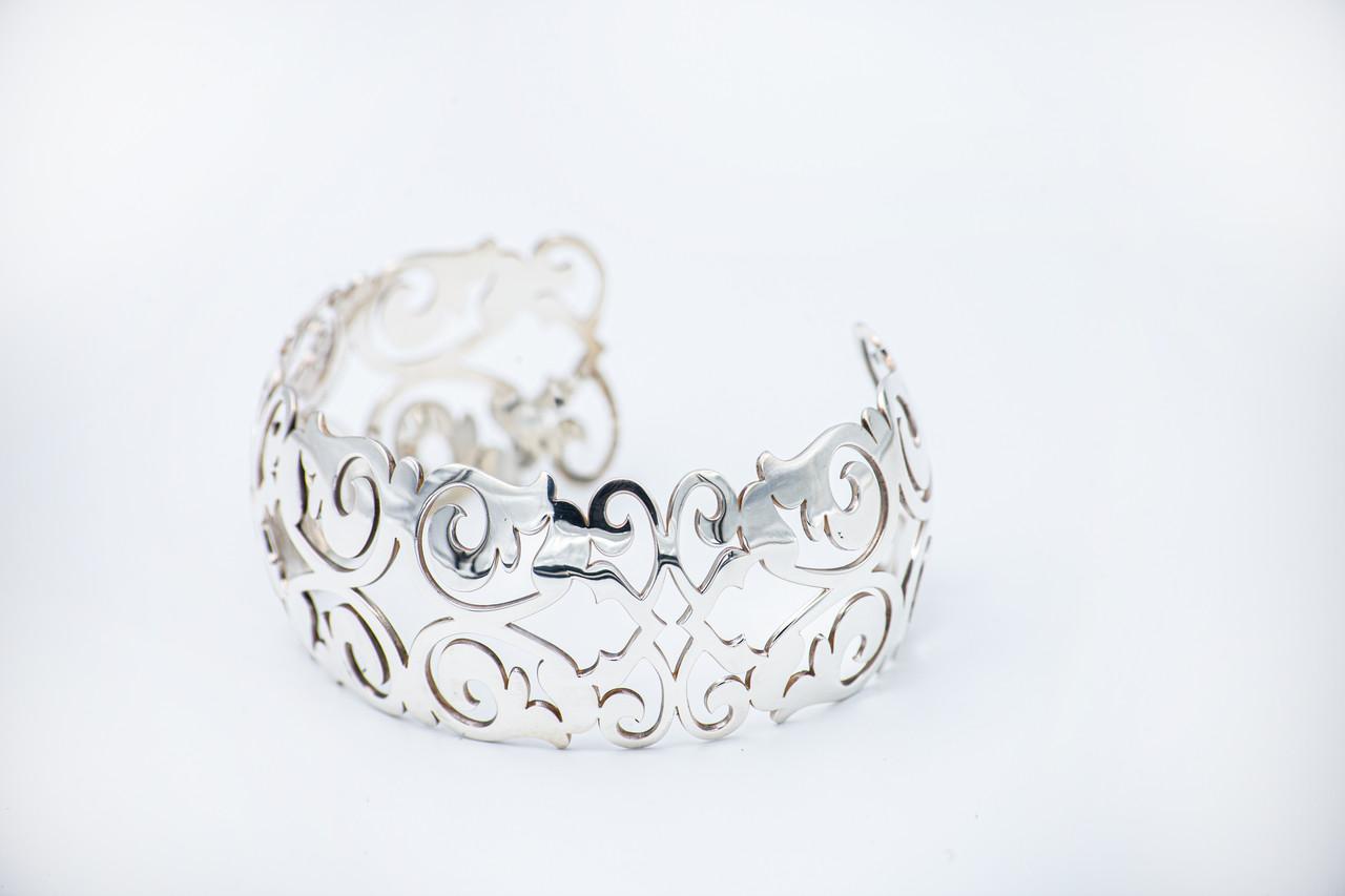 Браслет серебро Орнамент