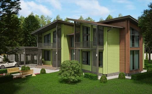 Проект дома №3341