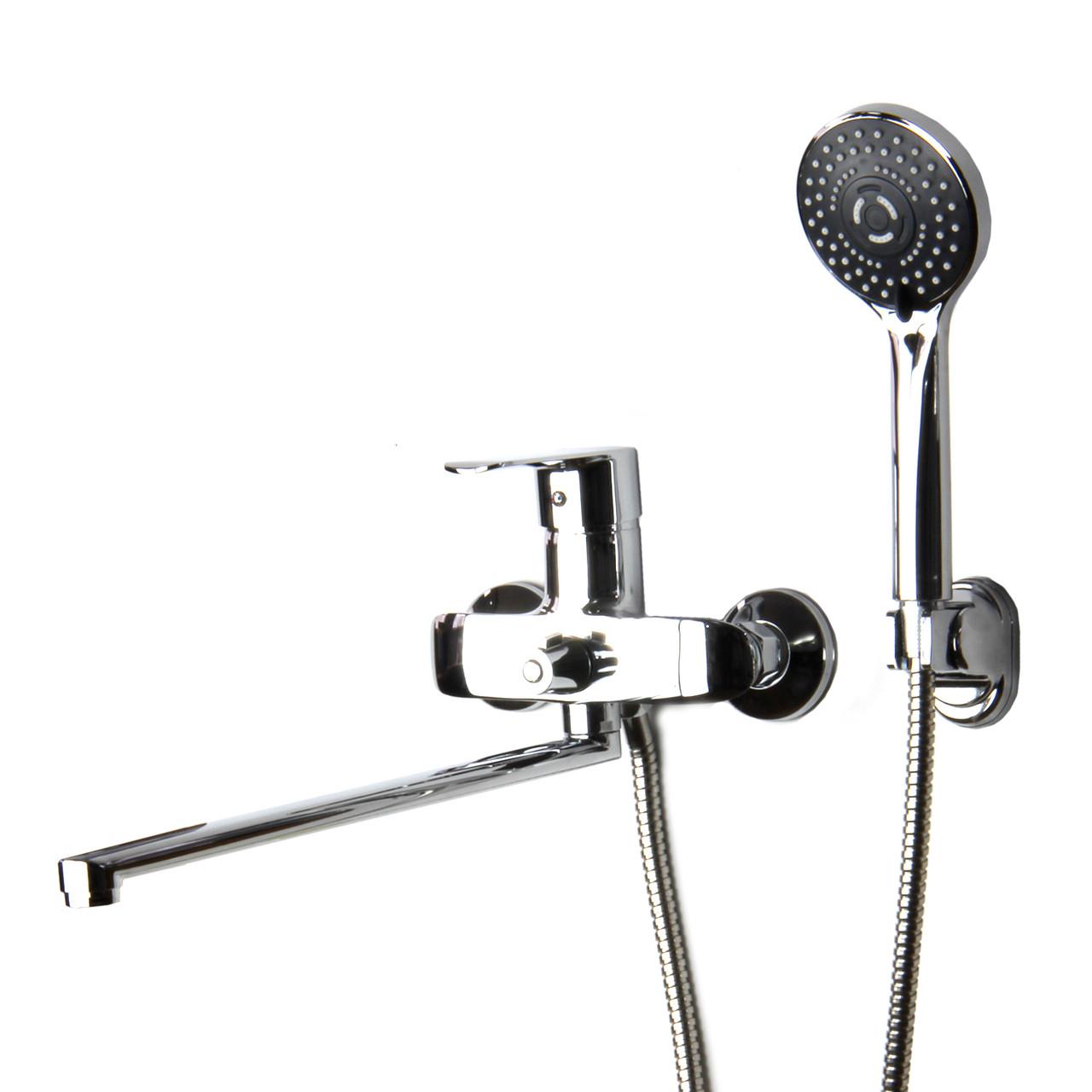 Смеситель для душа/ванны с длинным гусаком GLORIA DSV001