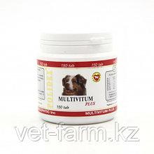 POLIDEX Multivitum Plus, Полидекс, Мультивитамины Для Собак, Уп. 150 Табл