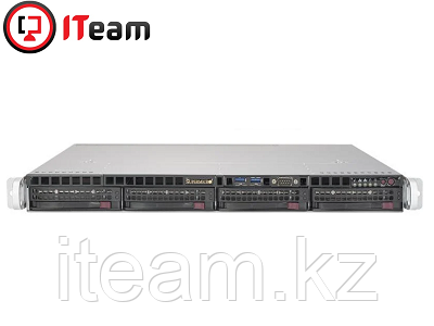 Сервер Supermicro 1U/Xeon E-2274G 4GHz/32Gb/1x500Gb SSD M.2/4x2Tb