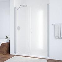 Душевая дверь в нишу Vegas Glass EP-F-2 170 07 10 R профиль матовый хром, стекло сатин