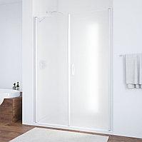 Душевая дверь в нишу Vegas Glass EP-F-2 170 01 10 R профиль белый, стекло сатин