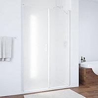 Душевая дверь в нишу Vegas Glass EP-F-2 125 01 10 L профиль белый, стекло сатин