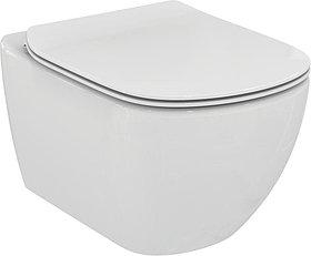 Унитаз подвесной Ideal Standard Tesi с микролифтом