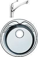 Комплект Мойка кухонная Iddis Suno SUN51P0i77 + Смеситель Iddis Kitchen Line K10SB00i05 для кухонной мойки