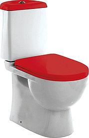 Унитаз-компакт Sanita luxe Best Color Red с микролифтом