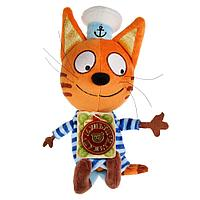Мягкая игрушка Коржик. Три кота. 14 см. не озвуч. (Мульти-Пульти)