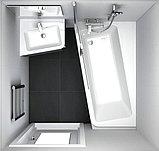 Шторка на ванну Ravak 10° 10CVS2 7QLA0U03Z1 L, фото 2