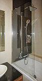 Шторка на ванну GuteWetter Lux Pearl GV-601A левая 70 см стекло бесцветное, профиль хром, фото 2