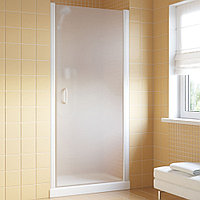 Душевая дверь в нишу Vegas Glass EP Lux 70 01 10 R профиль белый, стекло сатин