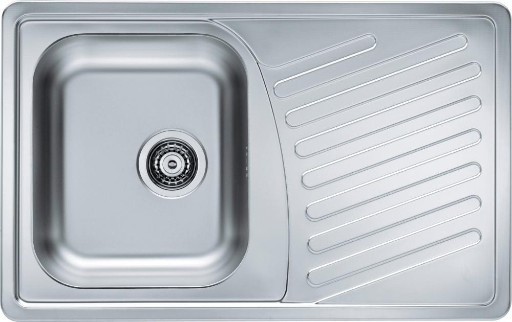Мойка кухонная Alveus Elegant 30 revers satin с корзинчатым вентилем