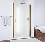 Душевая дверь в нишу Vegas Glass EP 85 05 10 профиль бронза, стекло сатин, фото 2