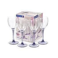 Набор фужеров для вина Luminarc SWEET LILAC 190 мл. (4 штуки), фото 1
