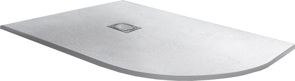 Поддон для душа RGW Stone Tray ST/AL-0129W 90х120 с сифоном