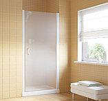 Душевая дверь в нишу Vegas Glass EP Lux 75 01 10 R профиль белый, стекло сатин, фото 2