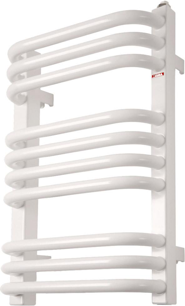 Полотенцесушитель электрический Terma Alex + MOA 50x54 белый, 300W