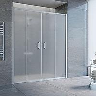 Душевая дверь в нишу Vegas Glass Z2P 220 07 10 профиль матовый хром, стекло сатин