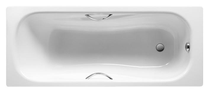 Стальная ванна Roca Princess-N 160 см