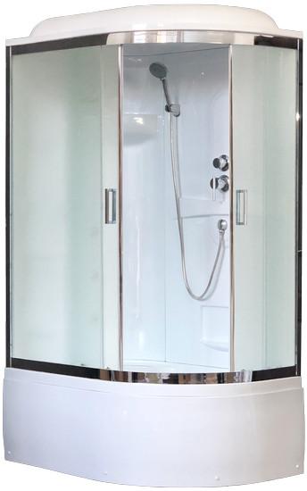 Душевая кабина Royal Bath RB 8120BK1-M-CH L