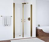 Душевая дверь в нишу Vegas Glass E2P 95 05 01 профиль бронза, стекло прозрачное, фото 2