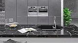Мойка кухонная KitKraken Creek Graphite темно-серая, фото 2