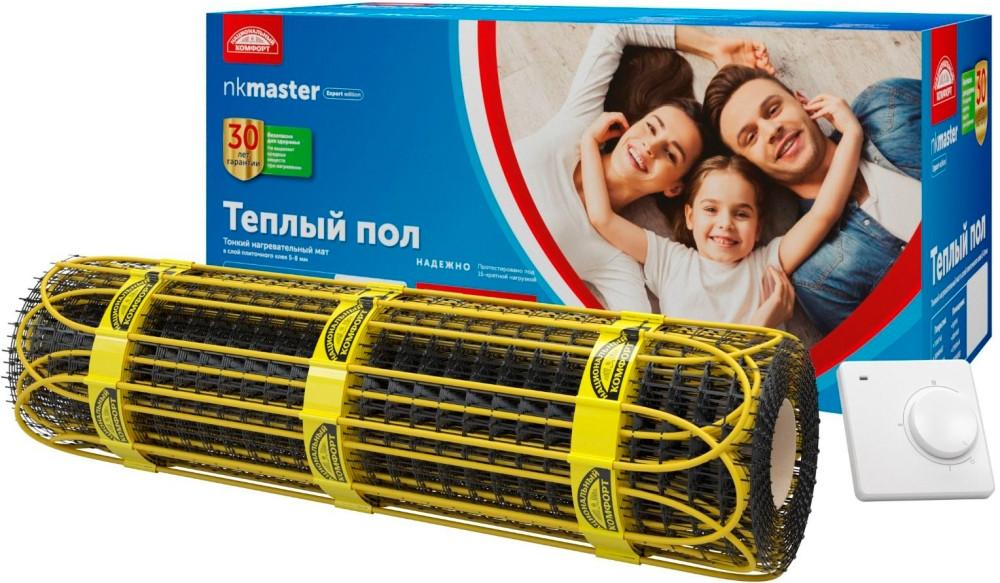 Теплый пол Национальный комфорт Мастер 2НК 1500-10,0 c терморегулятором