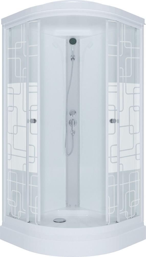 Душевая кабина Triton Стандарт 90х90 А ДН4 квадраты