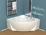 Акриловая ванна Акватек Поларис – 1 вклеенный каркас, фото 2