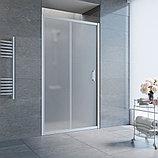 Душевая дверь в нишу Vegas Glass ZP 105 07 10 профиль матовый хром, стекло сатин, фото 2