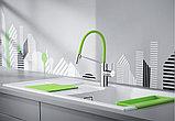 Смеситель Blanco Viu-S 524813 для кухонной мойки, 4 цветных съемных шланга, фото 4