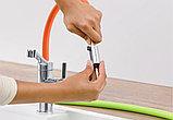 Смеситель Blanco Viu-S 524813 для кухонной мойки, 4 цветных съемных шланга, фото 8