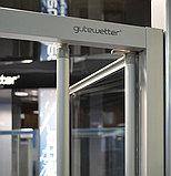 Душевой уголок GuteWetter Practic Square GK-404 правая 80x80 см стекло бесцветное, профиль матовый хром, фото 2