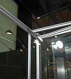 Душевой уголок GuteWetter Practic Square GK-404 правая 80x80 см стекло бесцветное, профиль матовый хром, фото 3