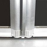 Душевой уголок GuteWetter Practic Square GK-404 правая 80x80 см стекло бесцветное, профиль матовый хром, фото 6