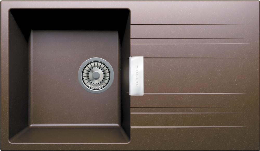Мойка кухонная Tolero TL-750 коричневая