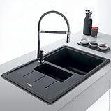 Мойка кухонная Franke Basis BFG 651-78 оникс, фото 3