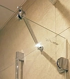 Шторка на ванну GuteWetter Lux Pearl GV-001A правая 50 см стекло бесцветное, фурнитура хром, фото 3