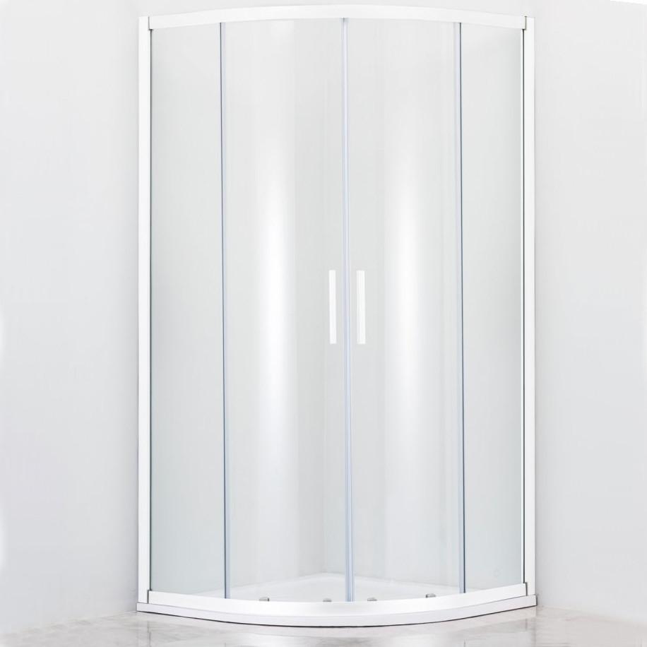 Душевой уголок Cezares Relax R-2-80-C-Bi стекло прозрачное