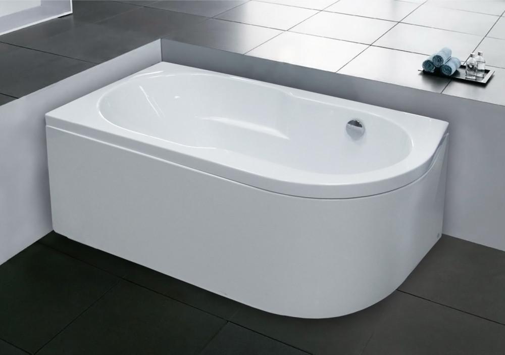 Акриловая ванна Royal Bath Azur RB 614201 L 150 см + слив-перелив