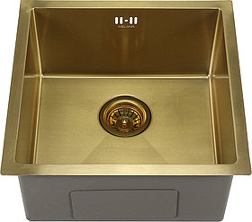 Мойка кухонная Melana D4545HG золото