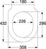 Комплект Унитаз подвесной Villeroy & Boch Subway 2.0 5614R201 alpin + Система инсталляции для унитазов, фото 7