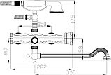 Смеситель Zorg Antic A 101WDN-BR универсальный, фото 2