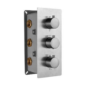 Термостат RGW Shower Panels SP-41-01 С ВНУТРЕННЕЙ ЧАСТЬЮ, для душа